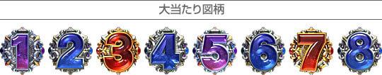 ぱちんこCR北斗の拳5 覇者 大当たり図柄
